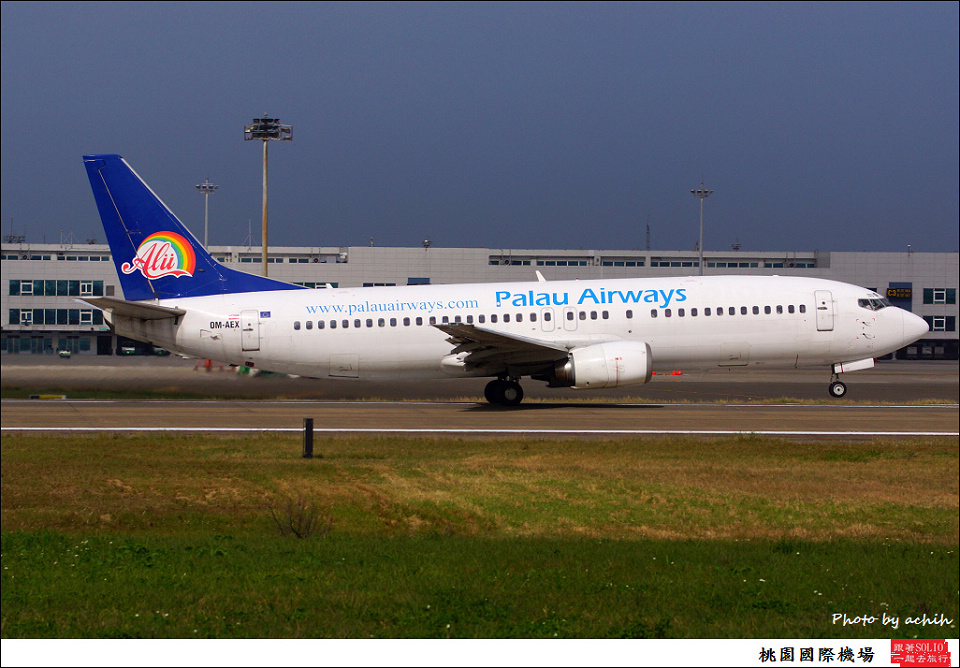 Palau Airways OM-AEX客機001