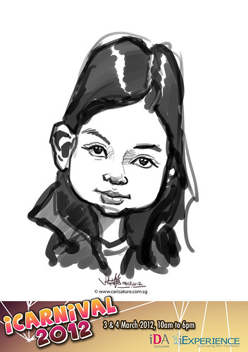 digital live caricature for iCarnival 2012  (IDA) - Day 2 - 50