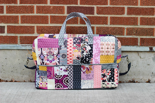 Patchwork Duffle Bag by Jeni Baker