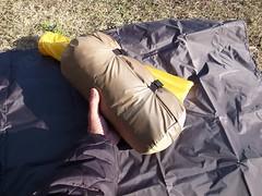 テント収納時