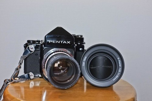 Pentax 67 with P-Planar 150mm f3.5