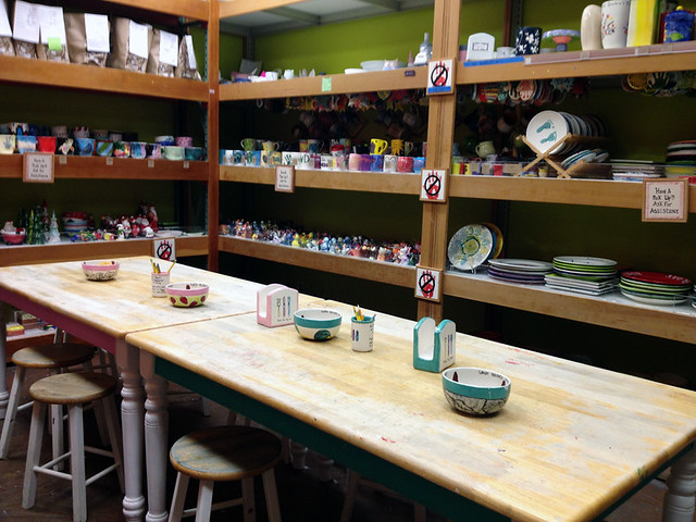 Ceramics Painting Studio 1