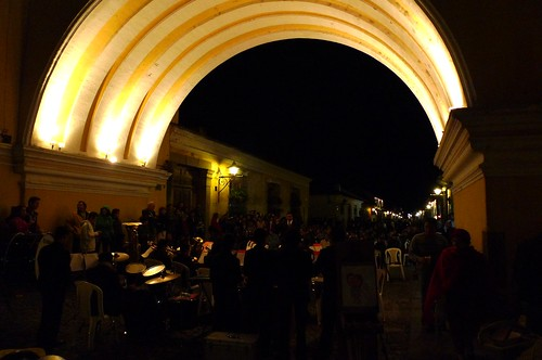 Band under the Arco - Antigua, Guatemala