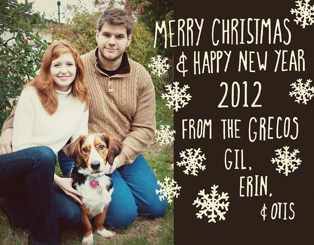 Greco Christmas Card 2012