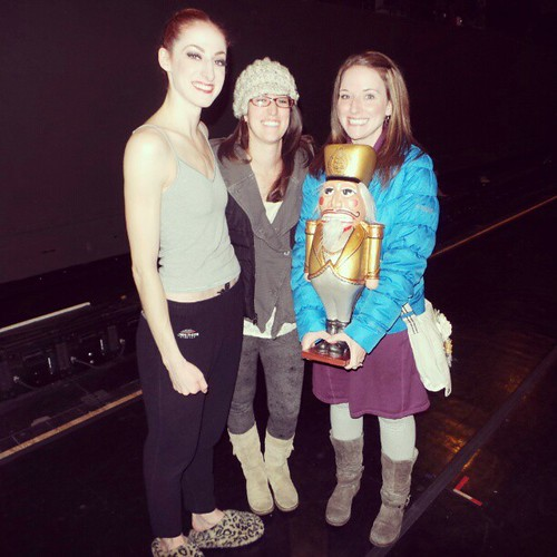 And then my sister and I held THE Nutcracker with THE Sugar Plum Fairy. #BalletWest
