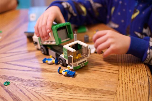 Garbage Truck Legos