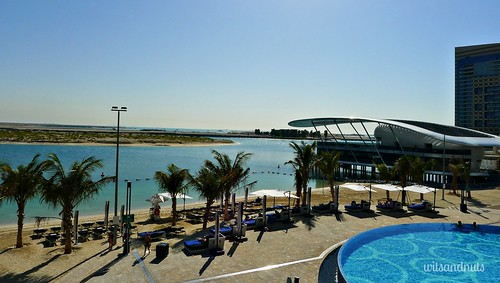 View from Rosewater Restaurant, Jumeirah Etihad Towers