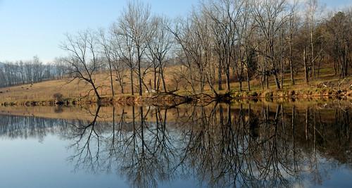 trees sky reflection water virginia nikon va fosterfalls newriver yabbadabbadoo newrivertrail wythecounty d5100 nikond5100