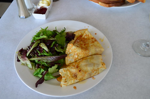 Butternut Squash Apple Bacon Onion Crepe