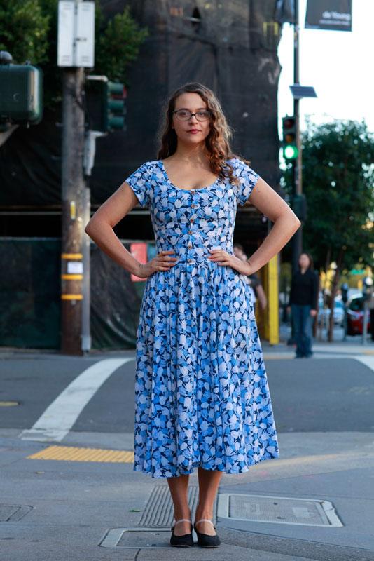 katie_valstreet fashion, street style, women, Valencia Street, San Francisco