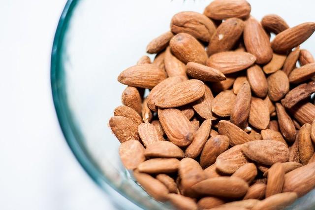 Almond close-up