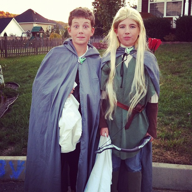 Frodo and Legolas are on a...