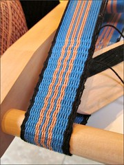 First inkle weaving project