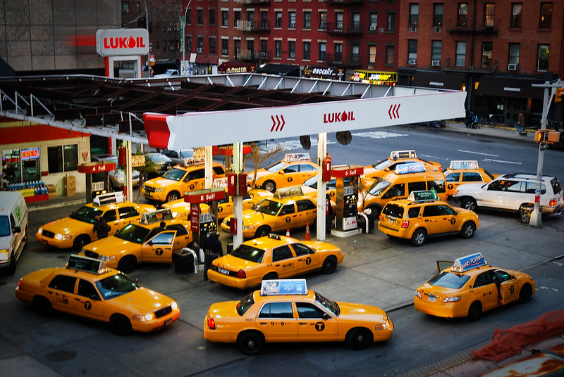 Yellow is the color of New York City
