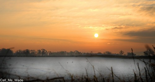 winter sun cold field clouds sunrise countryside frost cheshire frosty fields greatbritishlandscape