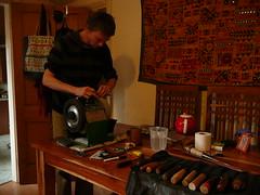 Grinding tools on the Tormek