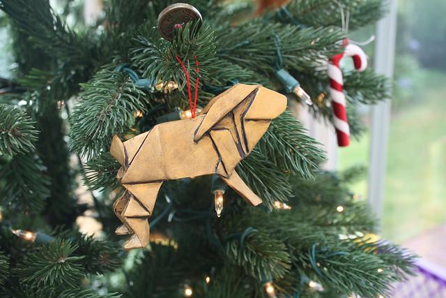 Origami Ornament from Patti