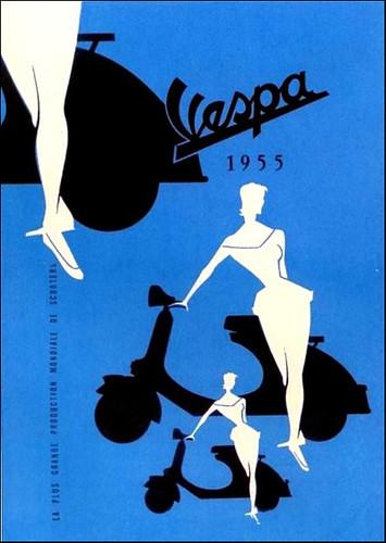 Vespa 1955 by bullittmcqueen