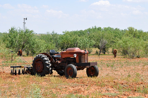 travel usa tractor landscape texas northamerica sweetwater sweetwatertx