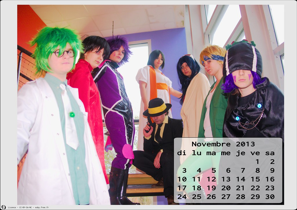 related image - Calendrier Cosplay 2013 - 11 - Novembre