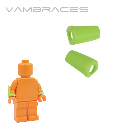 Vambraces - Lime Green
