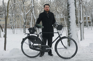 Snow Husband and His Pashley