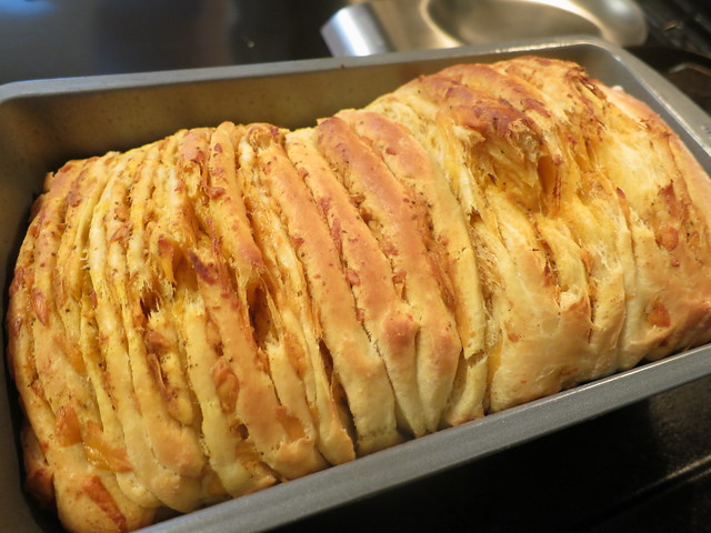 Baltimore pull-apart bread