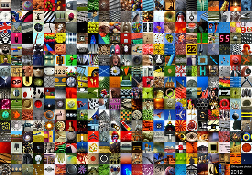2012 in 366 squares by pho-Tony