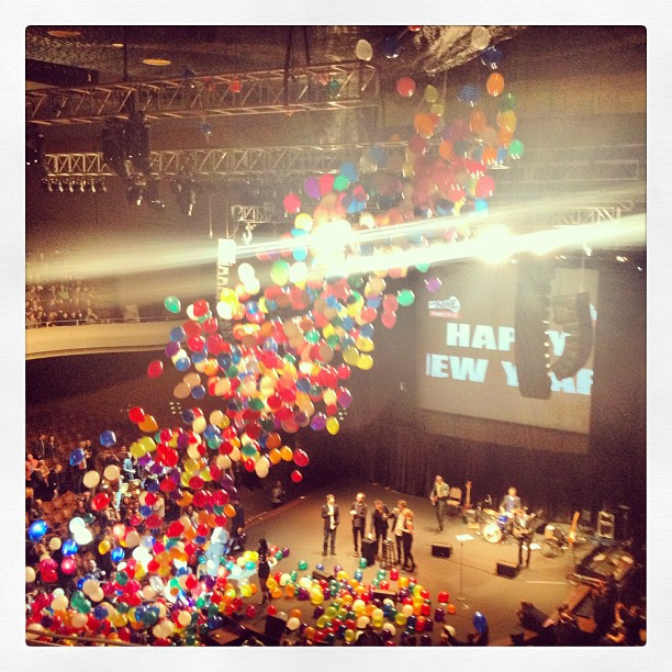 Happy new year! #newyear #2013 #balloondrop