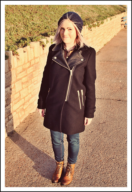 Outfit post Zara coat and boots