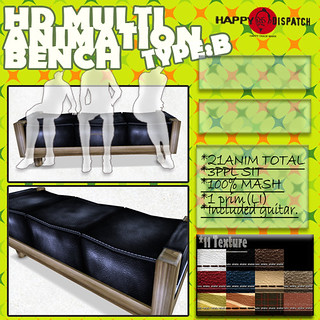 HD MULTI ANIMATION BENCH  TYPEB
