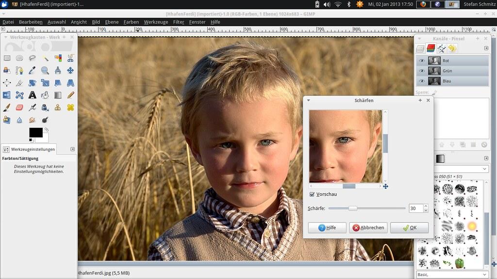 Linux für Bildbearbeitung