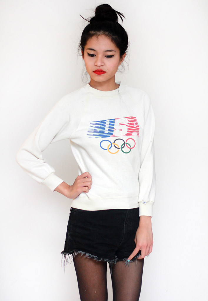 vintage USA olympics sweater by Tarte Vintage at shoptarte.com
