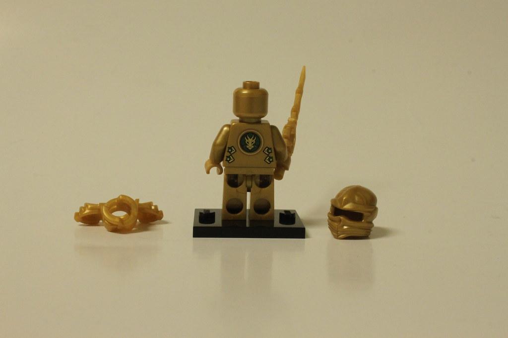 Lego Ninjago The Golden Dragon 70503 Lloyd The Golden Ninja A