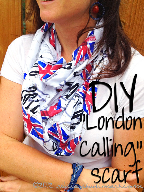 DIY London Calling Scarf copy