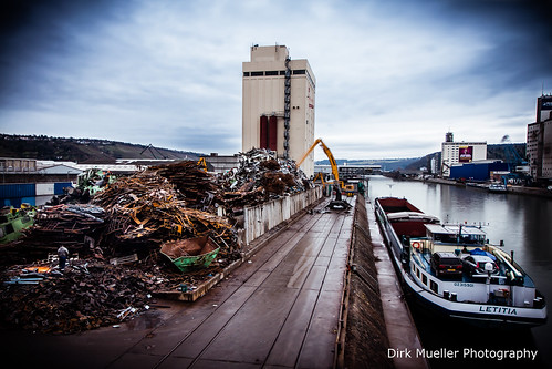 Harbour Work by Dirk Mueller Photography