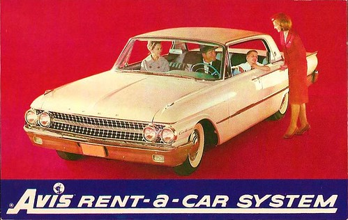 Avis Rent-a-Car System Ford Contour 60s