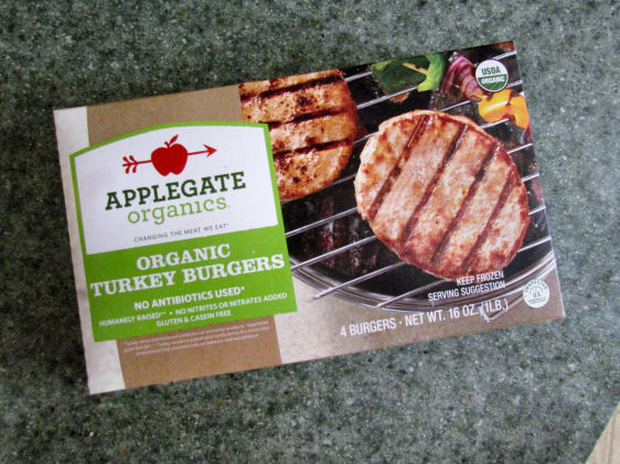Applegate Farms Turkey Burgers