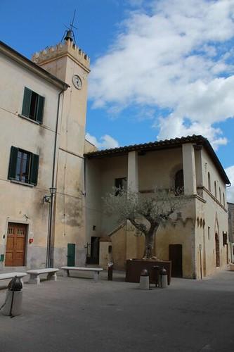 Magliano in Toscana: palazzo dei priori