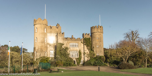 Malahide Castle and Gardens is one of the oldest castles in Ireland by infomatique