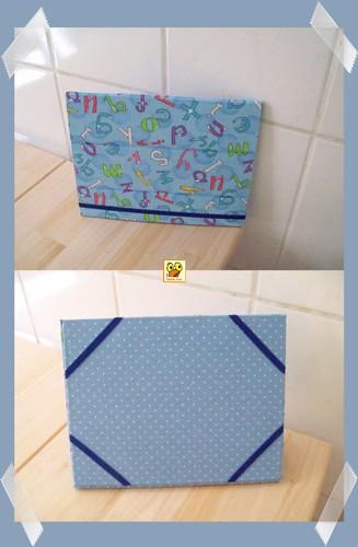 Case p/ Ipad/ tablet em cartonagem by Galinha Xoca