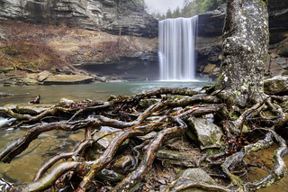 Greeter Falls, South Cumberland State Park, Grundy County, Tennessee 1