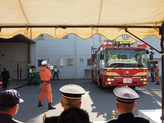 201301_蕨市出初式 はしご車デモ