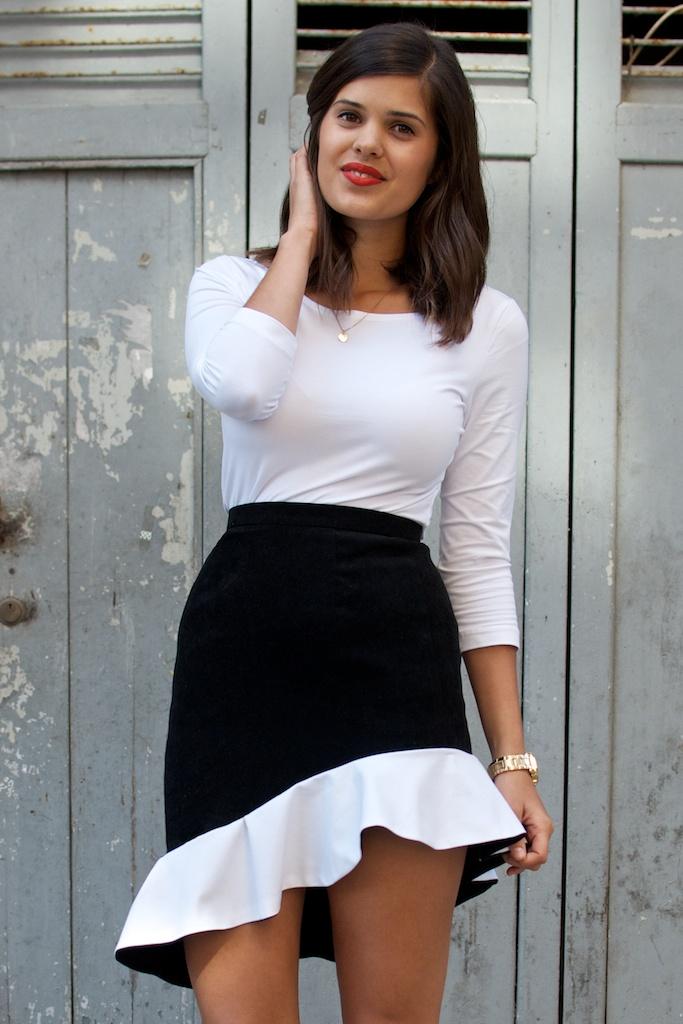 DIY Balenciaga ss13 Ruffle Skirt