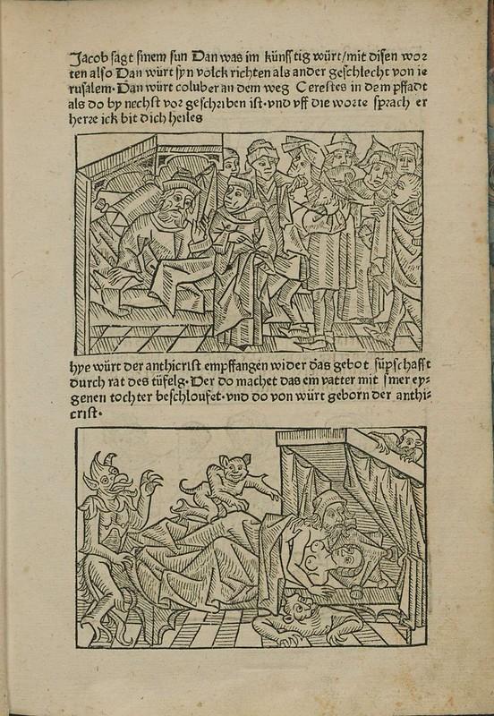 Incunabulum woodcut