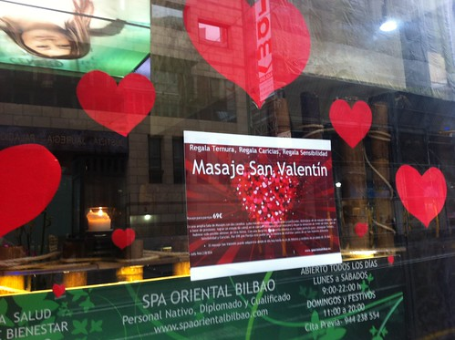 MASAJE SAN VALENTIN  SPA ORIENTAL  69€ by LaVisitaComunicacion