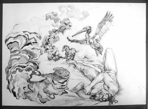 drawing in progress