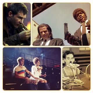 Blade Runner, Amarcord, Tempos Modernos, Pulp Fiction