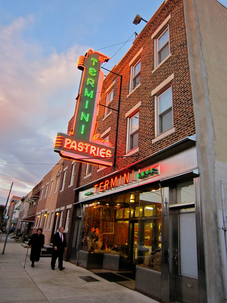 Termini Bakery Pastries Neon Sign Philadelphia PA