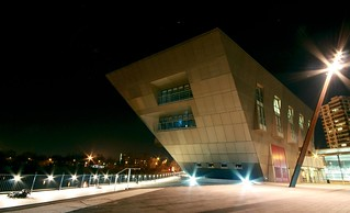 Canada Water Library By Night 4